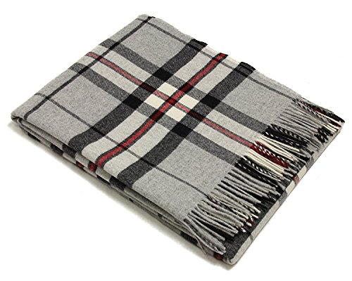 - Tartan Throw - Merino Lambswool (Gray Thompson) ()