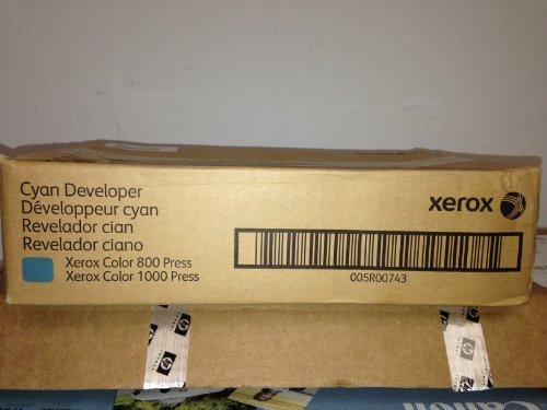 xerox developer - 5