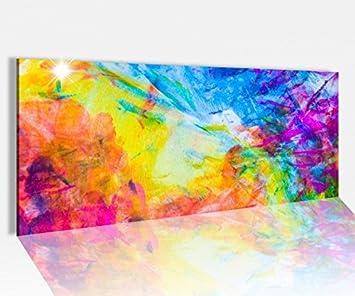 Glasbilder Wandbild Druck auf Glas 125x50 Abstraktes Kunst