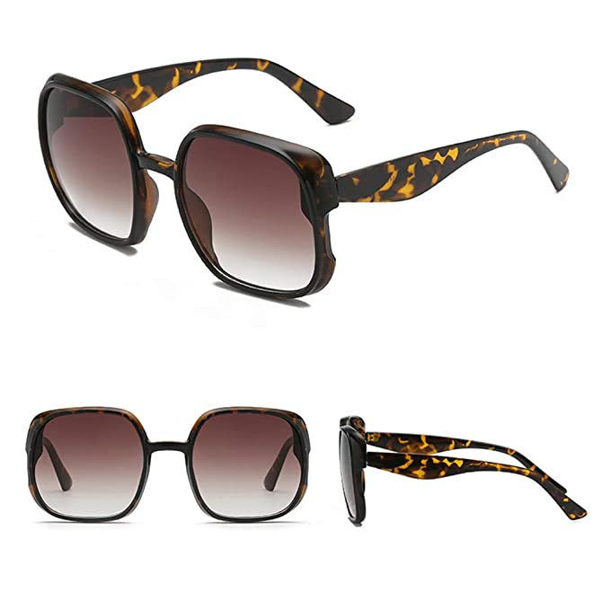 ♛TIANMI Man Women Irregular Shape Sunglasses Unisex Fashion Outdoor Beach Glasses Vintage Retro Style