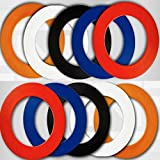 NODOR PLAIN DARTBOARD SURROUND RUBBER RING ORANGE by PerfectDarts