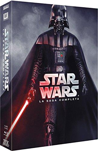 Star Wars (Saga Completa 2015) [Blu-ray] (Star Wars Complete Saga Not Blu Ray)