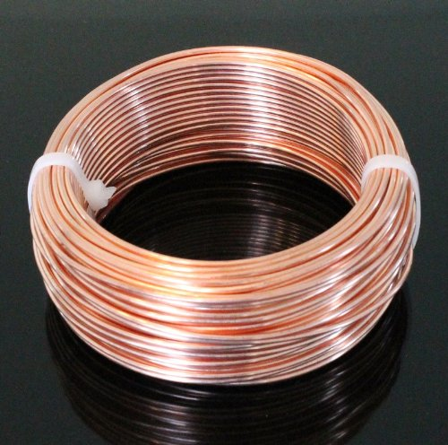 Wire Wrapping Solid Copper Wire 20ga 265 Ft.(soft) 12 Oz Special Buy
