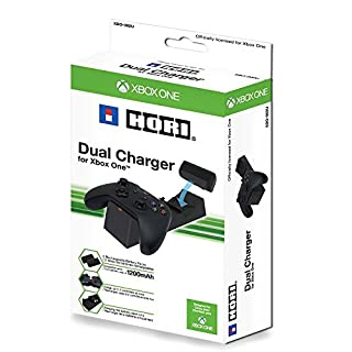 HORI Dual Charger for Xbox One with Two Rechargable Battery Packs (B00PVNFZL0) | Amazon price tracker / tracking, Amazon price history charts, Amazon price watches, Amazon price drop alerts