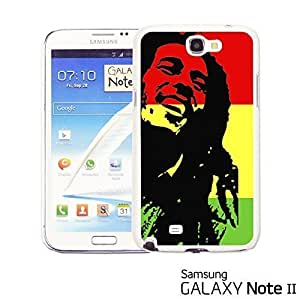 OnlineBestDigital? - Art Paintings Hardback Case for Samsung Galaxy Note 2 - Bob Marley