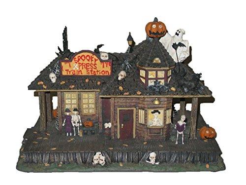 Hawthorne Village Halloween Train (Hawthorne Village Illuminated Munsters