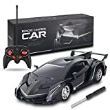 SRVOOZ Remote Control Car, Rc Drift 1:16 Scale 8-10 MPH High Speed Super Vehicle, Electric Sport Racing Hobby Toy Car with Cool Lights, Shock Absorber and Crashworthy, Xmas Birthday Toy Gifts for Kids