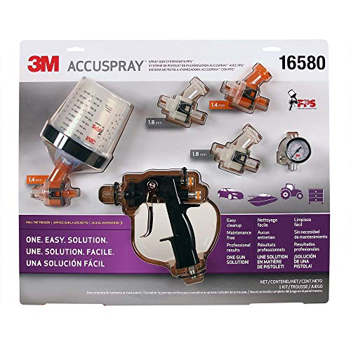 (3M 16580 Accuspray Spray Gun System with Standard PPS)