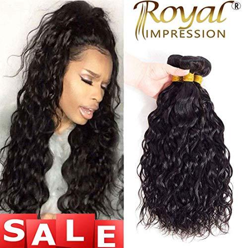 10A Brazilian Natural Wave Human Hair 3 Bundles (10