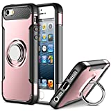 Ring Holder Case for Apple iPhone 5/iPhone 5S/iPhone SE (4 inch) Multifunction Hybrid