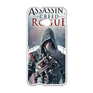 Malcolm Assassin's creed rogue Case Cover For HTC M7