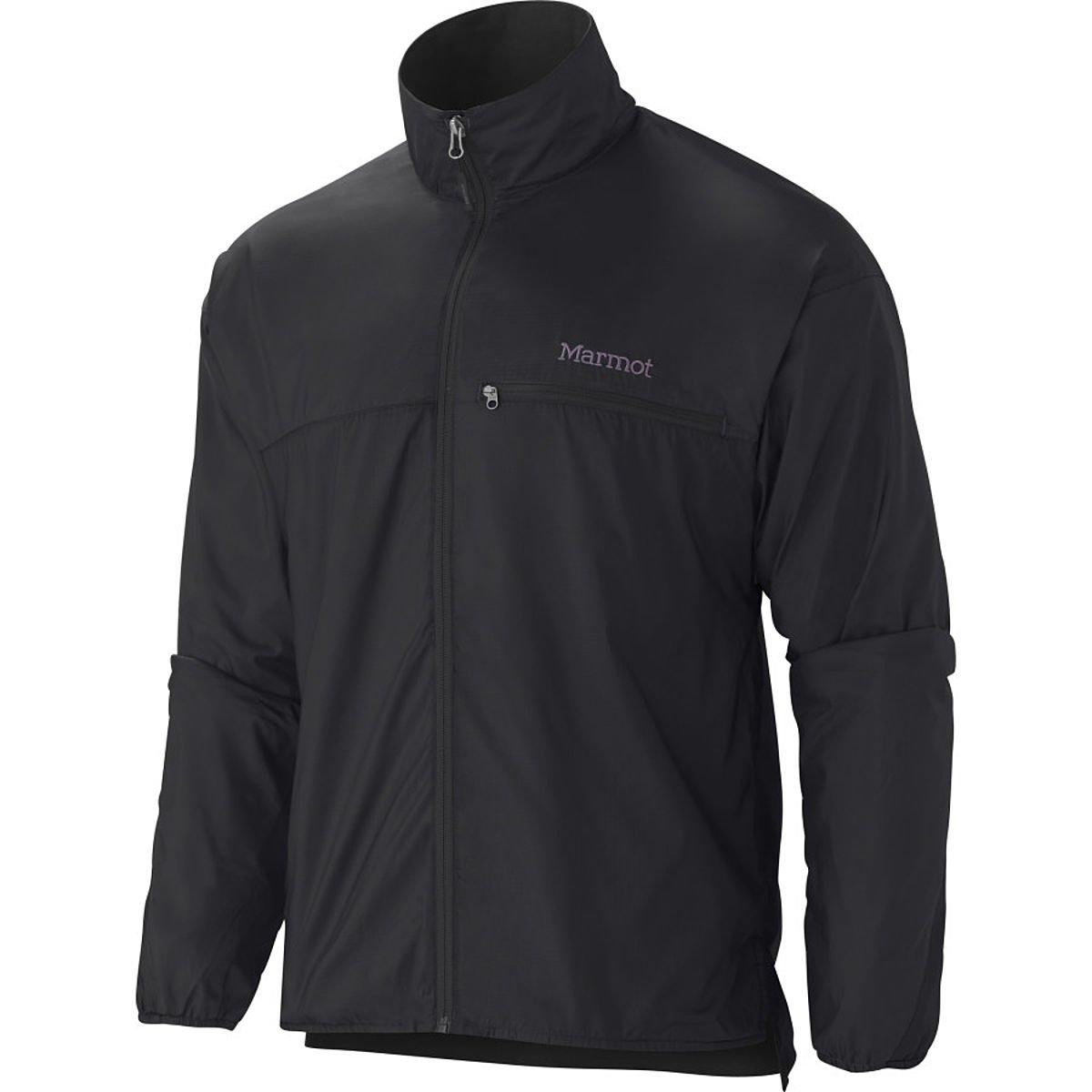 Marmot Men's Driclime Windshirt, Black, Large