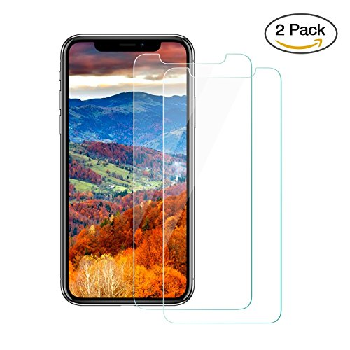Pine Glass Co Iphone x Screen Protector, Iphone x Tempered Glass Screen Protector , PINE GLASS 9H Hardness Glass Screen Protector for Iphone x - Frames Glasses Alpha