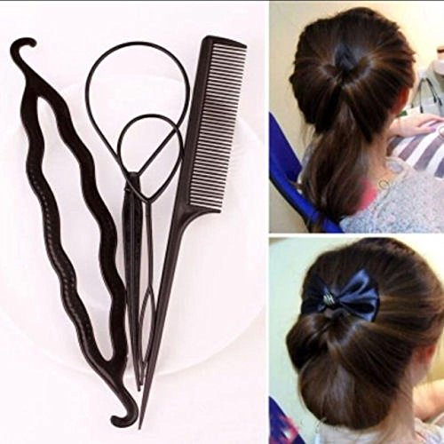 Hair Styling Tool - 1 Set Fashion Hair Twist Styling Clip Stick Bun Tools Hair Accessories