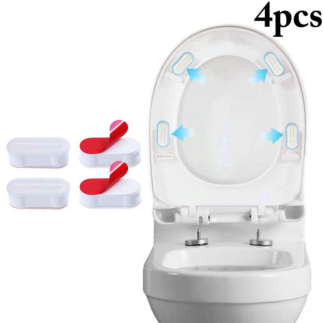 Stupendous Amazon Com Justdolife Toilet Seat Bumpers Creative Self Machost Co Dining Chair Design Ideas Machostcouk