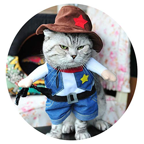 Small Funny Cats Clothes Pets Dress Dogs Clothing Funny Outfit Small Clothing Costume Products,1,L]()