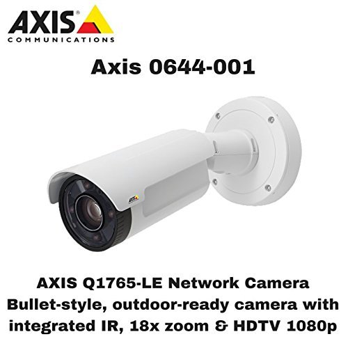 Axis Communications Q1765-LE Network Camera - Color, Monochrome 0644-001 by Axis ()