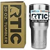 RTIC 30 oz Stainless Steel Tumbler Cup w/Splash Proof Lid