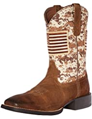 Ariat Mens Sport Patriot Western Cowboy Boot
