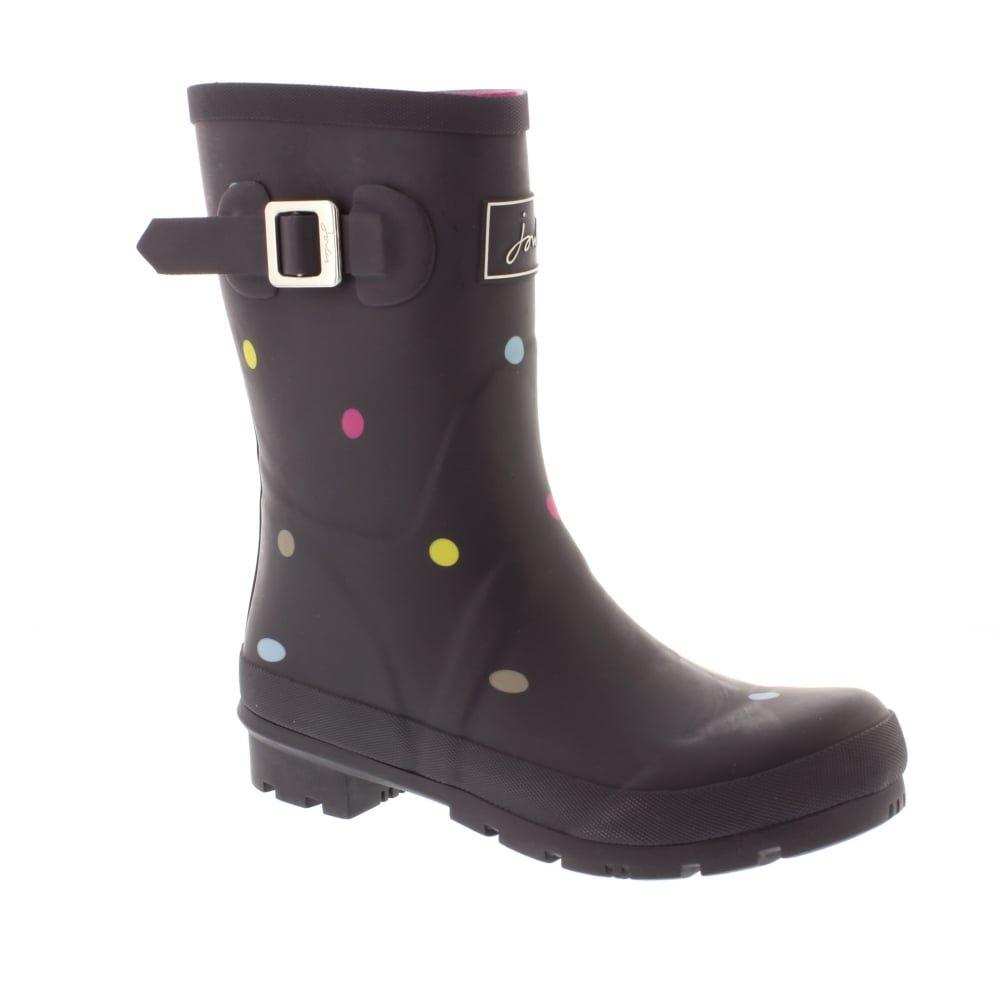 Grey Kiki Spot Joules Women's Molly Welly Rain Boot