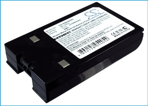 Cameron Sino 1500mAh Ni-MH High-Capacity Replacement Batteries for Brother Superpower Note PN4400 , fits Brother BA-400