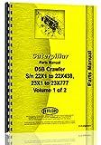 Caterpillar D5B Crawler (23X1 & Up) 153&163 Hyd Control Attch Parts Manual