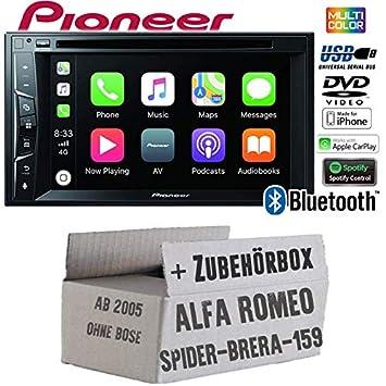 Pioneer AVH-Z2200BT - Radio para Coche con Bluetooth y Accesorios ...