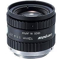 Computar M1214-MP2 2/3 12mm F1.4 Manual Iris C-Mount Lens, 1.5 Megapixel Rated