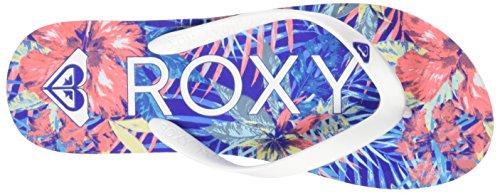 RoxyTahiti V - Sandalias de dedo Mujer Azul (Blue Jay /             White)
