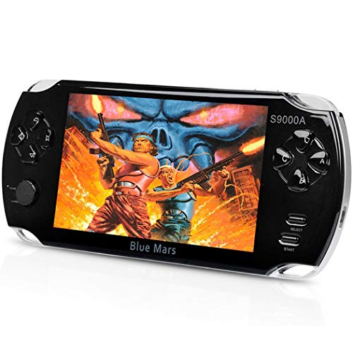 Quality Handhelad Game Console 5 Inch Screen 16GB with 1800 Classic Games, Durable Battery, Nice Gift Choice for Children
