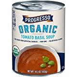 Progresso Organic Tomato Basil Soup Can, 14.3 Ounce (Pack of 8)