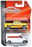 2013 chevy silverado die cast - Renault Master Bulgarian Ambulance & Chevrolet Silverado Lifeguard Pick Up Majorette 2 Pieces Set 1:64