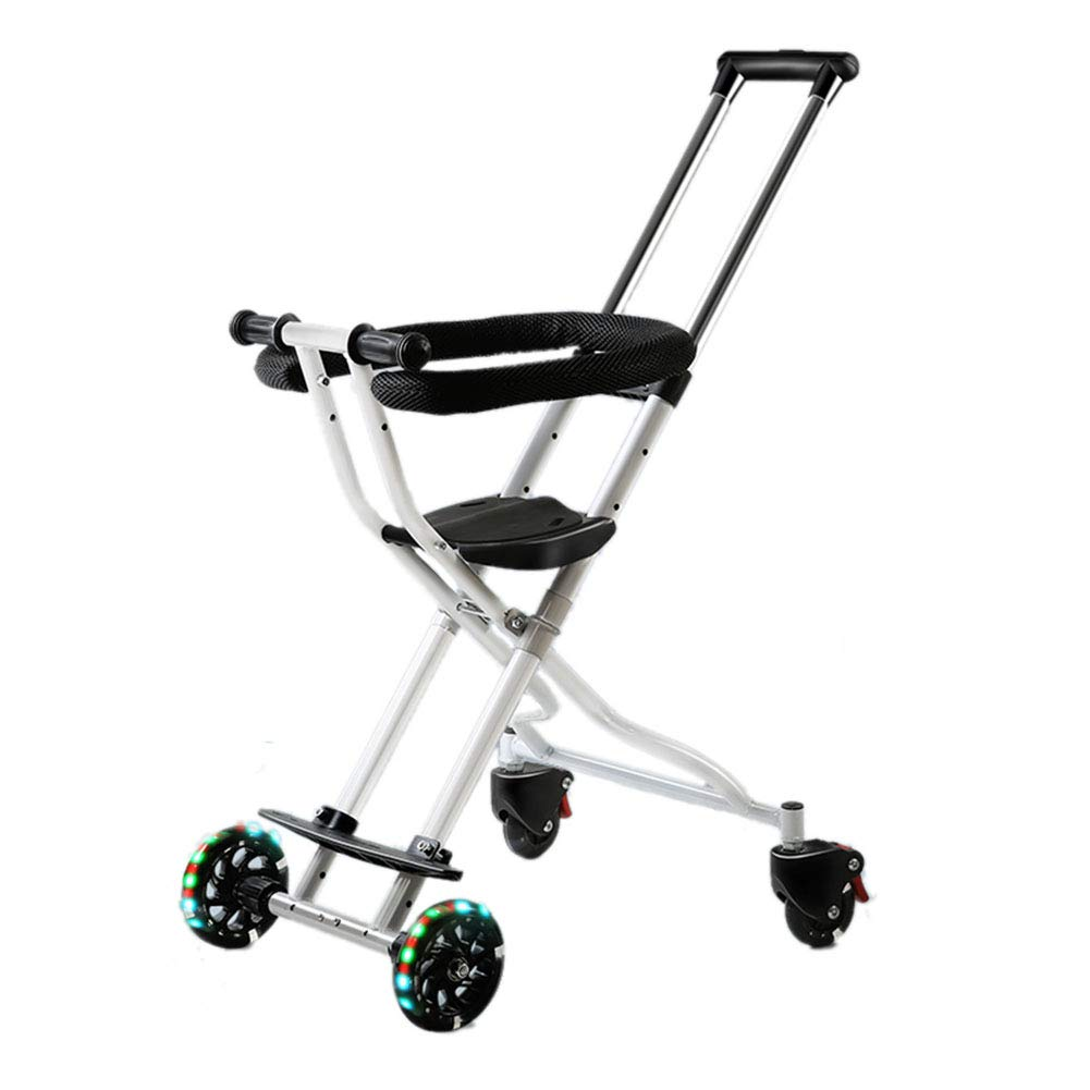 YXGH@ Baby Lightweight Trolley, Baby Cart, Baby Artifact,Four-Wheel Anti-Rollover Infant Child Folding Take Out Baby Carriage