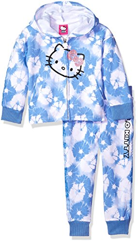 Hello Kitty Big Girls' 2 Piece Embellished Active