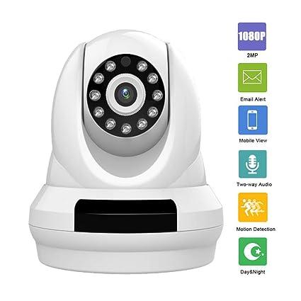 Cámaras de Vigilancia WiFi, Cámaras de Vigilancia nterior/Exterior Detección de Movimiento, 2
