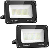Onforu 50W Foco LED Exterior (2 Pack), 5500LM