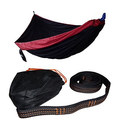 xl-double-size-hammock-with-premium-tree-straps-crimson-black
