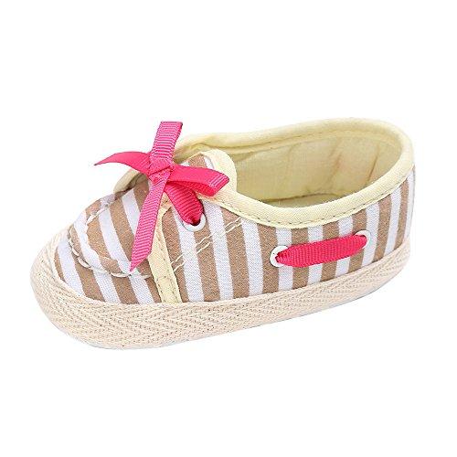 sandalias nina verano baratas Switchali Recién nacido otoño zapatos bebe niña primeros pasos con suela princesa Zapatos bowknot Sandalias de vestir niña casual Zapatillas Beige