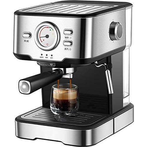 XIAO&WEICHENG Cafetera Cafetera Espresso 20 Bar Máquina de Vapor ...