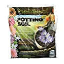 Organic Harvest Potting Mix Soil for Vegetables, Herbs and Flowers, 4 Quart