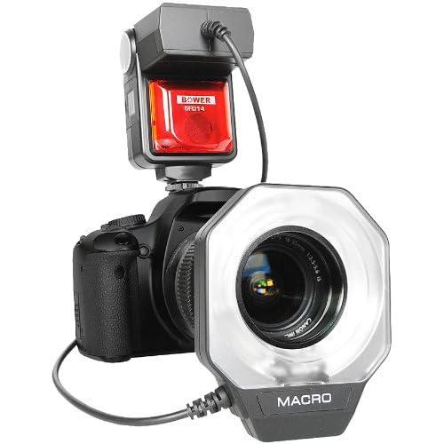Bower SFD14N Digital Macro Ring Flash for Nikon Digital SLR Cameras