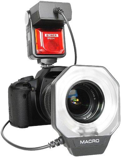 (Bower SFD14N Digital Macro Ring Flash for Nikon Digital SLR Cameras)