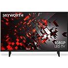 """Skyworth E-Series 1080P 43"""" Inch LED TV 60 Hz Dolby Audio Sound 43E2"""