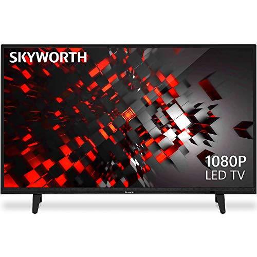 Skyworth E-Series 1080P 43 Inch LED TV 60 Hz DTS Dolby Audio Sound 43E2 Black
