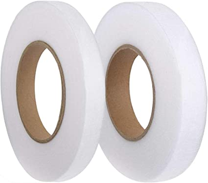 Fabric Fusing Tape Adhesive Hem Tape Iron-on Tape Hem Iron-On Adhesive Fusible Webbing Sewing Hemming Tape for Sewing Each 70 Yards