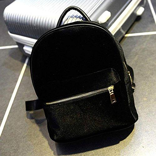 Pu Ran® - Bolso estilo cartera para mujer small, gris (gris) - YKZV162645ETAMT5434 negro