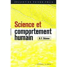 Science et comportement humain [ancienne édition]