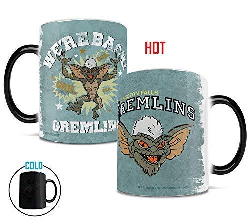 Gremlins - Stripe Coffee Mug - 1980s Movie Nostalgia - Mugs Heat Sensitive Mug - Ceramic Color Changing Heat Reveal Coffee Tea Mug - by Trend Setters Ltd.