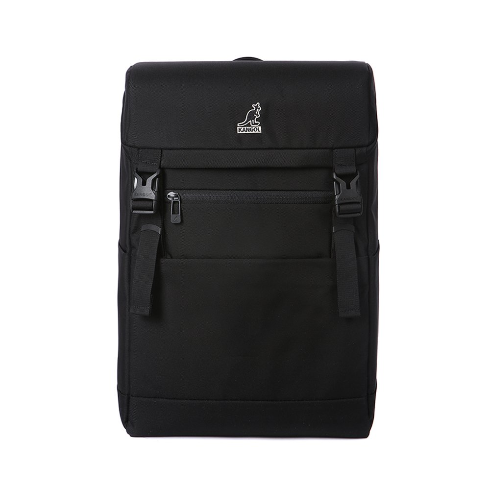 KANGOL (カンゴール) Cooper Backpack 1164 スクエア バックパック ユニセックス のバックパック (並行輸入品)  ブラック B0714JSFNL