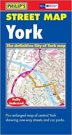 street map york uk Philip S Street Map York City Street Map Amazon Co Uk street map york uk